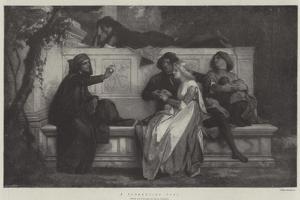 A Florentine Poet by Alexandre Cabanel