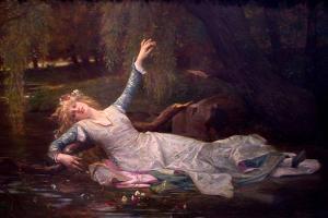 Ophelia, 1883 by Alexandre Cabanel