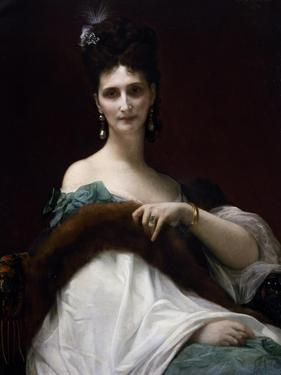 Portrait of Countess Keller, 1873 by Alexandre Cabanel