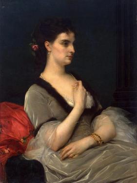 Portrait of Princess Elizabeth Vorontsova-Dashkova, 1873 by Alexandre Cabanel