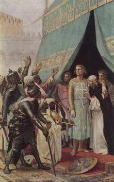 Seventh Crusade Louis Ix King of France Invades the Holy Land But is Taken Prisoner at Mansourah by Alexandre Cabanel