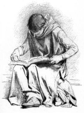 Study for the Education of St Louis (Pantheo), C1880-1882 by Alexandre Cabanel