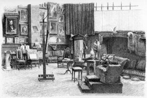 The Studio, C1880-1882 by Alexandre Cabanel