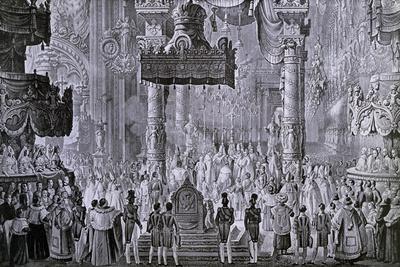 Coronation of Ferdinand I, 1835 in Milan
