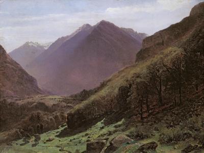Mountain Study, c.1840-43