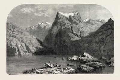 Swiss School. Lake Lucerne, 1855