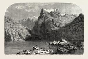 Swiss School. Lake Lucerne, 1855 by Alexandre Calame