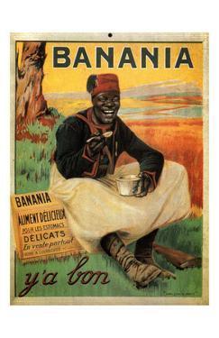 Y'A Bon Banania, c.1915 by Alexandre De Andreis