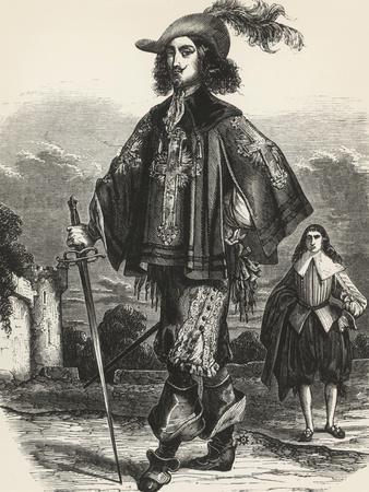 Athos, Illustration from Three Musketeers
