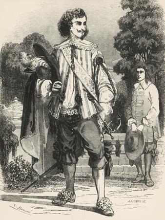 D'Artagnan, Illustration from Three Musketeers