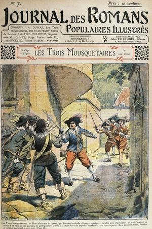 Illustration for Three Musketeers