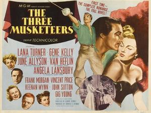 """Alexandre Dumas' the Three Musketeers, 1948, """"The Three Musketeers"""" Directed by George Sidney"""