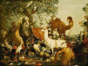 An Allegory of Asia by Alexandre-Francois Desportes