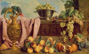 Still Life with a Jug, 1734 by Alexandre-Francois Desportes