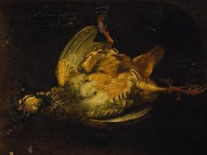 Still Life with Partridge by Alexandre-Francois Desportes