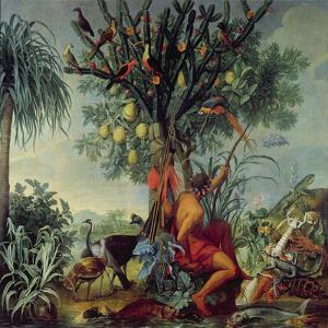 The Indian Hunter, 1740 by Alexandre-Francois Desportes