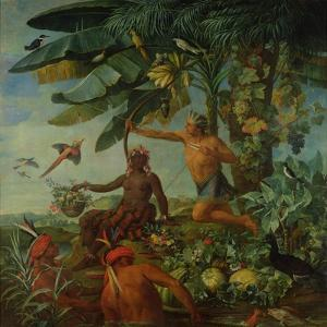The Indian Hunter and Fisherman, 1741 by Alexandre-Francois Desportes