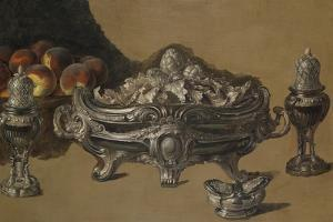 The Silver Bowl by Alexandre-Francois Desportes