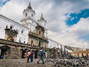 San Franscisco Church in Quito, Ecuador, South America by Alexandre Rotenberg