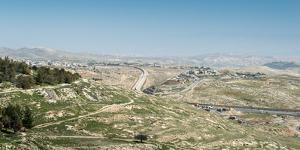 The strong separation fence between Israel and the Palestinian Authority, Middle East by Alexandre Rotenberg