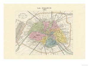 Paris, Capitale de la France by Alexandre Vuillemin
