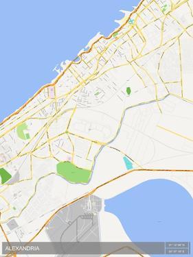 Alexandria, Egypt Map
