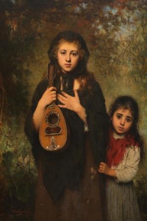 La Cigale, 1894 by Alexei Alexeyevich Harlamov