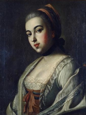 Portrait of Countess Anna Vorontsova (1743-176), 1761