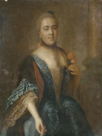Portrait of Countess Elizabeth Vorontsova (1739-179), 1762