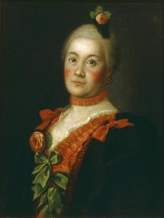Portrait of Countess Tatyana Alexeyevna Trubetskaya, 1761