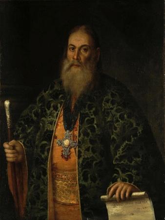 Portrait of Fyodor Dubyansky, 1761