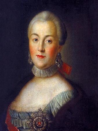 Portrait of Grand Duchess Catherine Alekseyevna, 1760