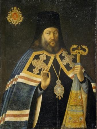 Theodosius Yankovsky, Archbishop of St. Petersburg and Prior of Alexander Nevsky Monastery, 1770s