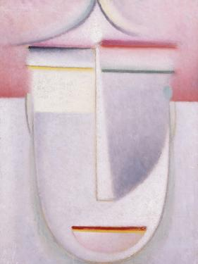 Abstract Head: Composition No 2 'Winter'; Abstraker Kopf: Komposition Nr 2 'Winter', C.1924 by Alexej Von Jawlensky