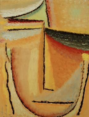 Abstract Head by Alexej Von Jawlensky