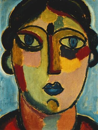 Blue Mouth; Blauer Mund, 1917