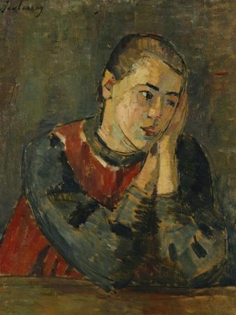 Child with Trimmed Head; Kind Mit Gestutztem Kopf, 1906