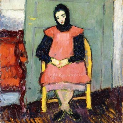 Girl in Yellow Chair, 1906-07