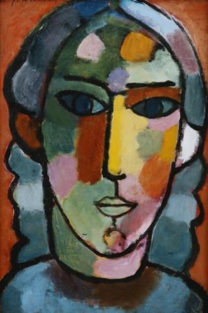 Head of Girl; Madchenkopf, C. 1915-16