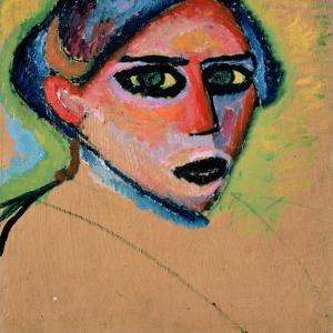 Woman's Head, 1911 by Alexej Von Jawlensky