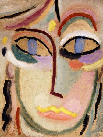Woman's Head, C.1922