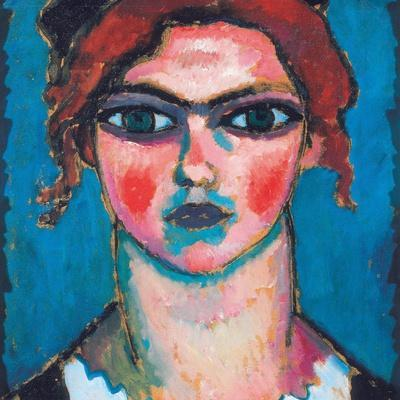 Young Woman with Green Eyes, C.1910