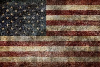 American Flag Background by alexfiodorov