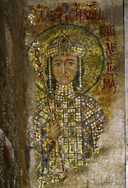 Alexios, Son of Joannes II Komnenos and Empress Irene, Mosaic in the South Gallery, 12th Century