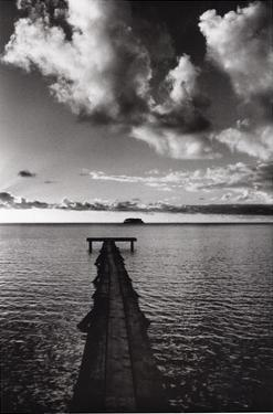 Jetty of Atiapiti, Raiatea, French Polynesia by Alexis De Vilar