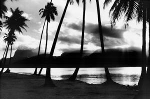 Sunset at Raiatea, French Polynesia by Alexis De Vilar