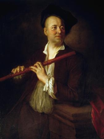 Portrait of Flutist