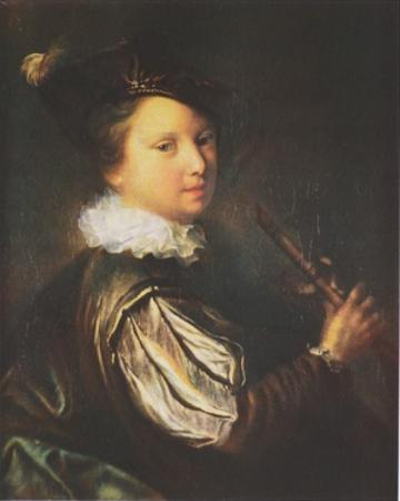 The Young Flutist