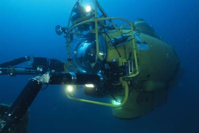 Navy Submersible by Alexis Rosenfeld