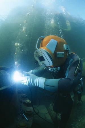 Welding Underwater by Alexis Rosenfeld